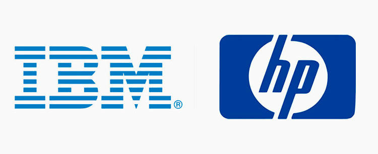 ibm-hp-logos